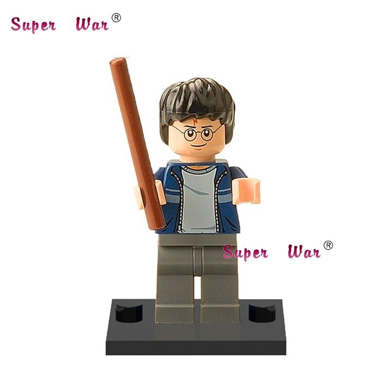 20pcs star wars superhero marvel Harry Potter movie building blocks action figure bricks model educational diy baby toys