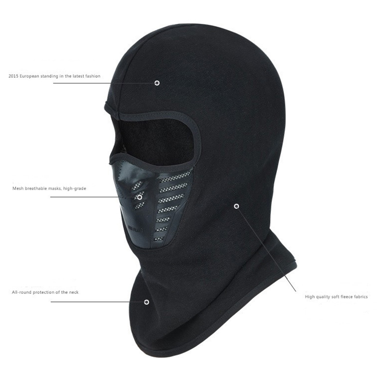 Winter Men Women Sports Bicycle Hat Motorcycle Windproof Face Mask Hat Neck Helmet Beanies Woman's Thermal Fleece Balaclava Hat cuhakci 2017 winter heating neck fleece hat headwear winter skiing ear windproof face mask motorcycle bicycle scarf