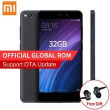 "Original Xiaomi Redmi 4A 4 A Pro Mobile Phone 2GB RAM 32GB ROM Snapdragon 425 Quad Core 5.0"" HD 4G FDD LTE 13MP Camera MIUI 8.1"