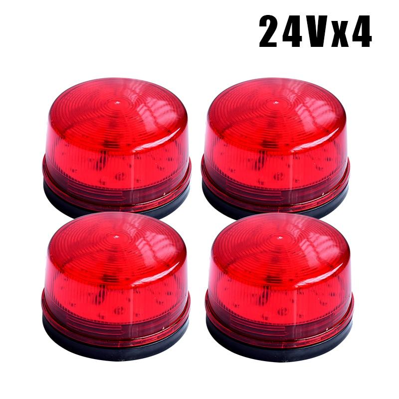 Red LED Flash Siren 12V Security Light Alarm Strobe Warning Alert Lamp Singal