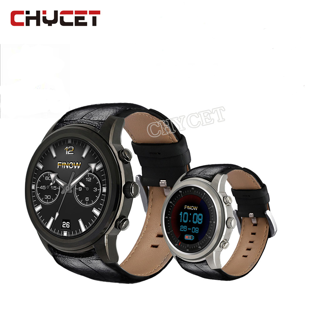 Chycet X5 Air Smart Watch 2GB RAM 16GB ROM Quad Core GPS AGPS 3G Smartwatch Heart Rate Monitor Pedometer for Android ios