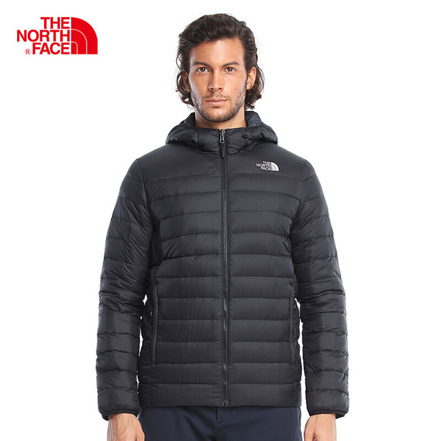 76fcc844d US $496.26 |The North Face Hiking Goose Down Jacket for Men Thermal Hooded  Comfortable Coats Windproof Reversible Trekking Clothes 3KTE-in Camping &  ...