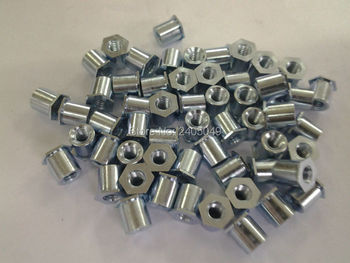 TSOA-6M3-400  Thin head  threaded  standoffs,  aluminum 6061,nature ,PEM standard,in stock, Made in china,