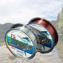 الجملة 100 متر النايلون حيدة Fishline قوة الشد قوية ارتداء المقاومة في الهواء الطلق الرياضة الكارب خيط صنارة الصيد للمياه المالحة