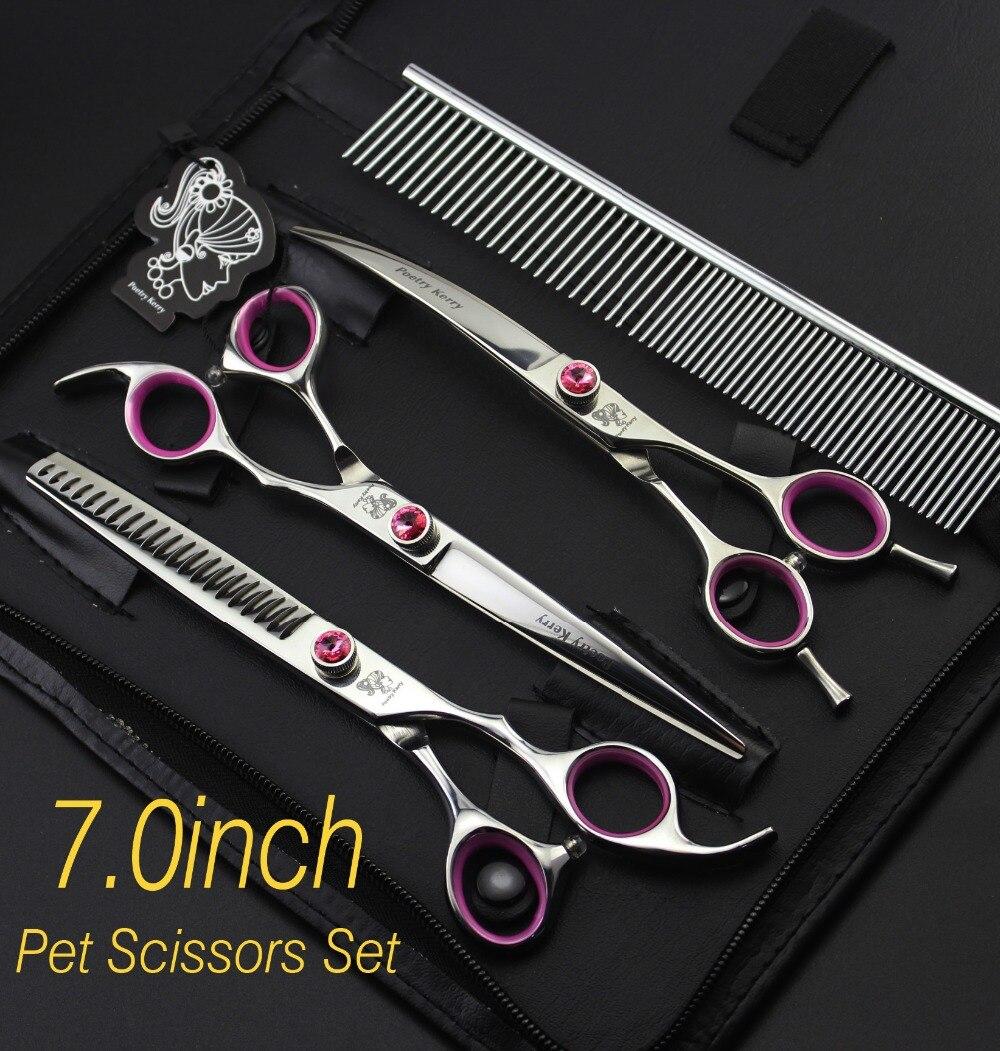 7.0inch Professional Premium Sharp Edge Dog PET GROOMING SCISSORS SHEARS  CWGD002 7 0inch professional premium sharp edge dog pet grooming scissors shears cwgd001
