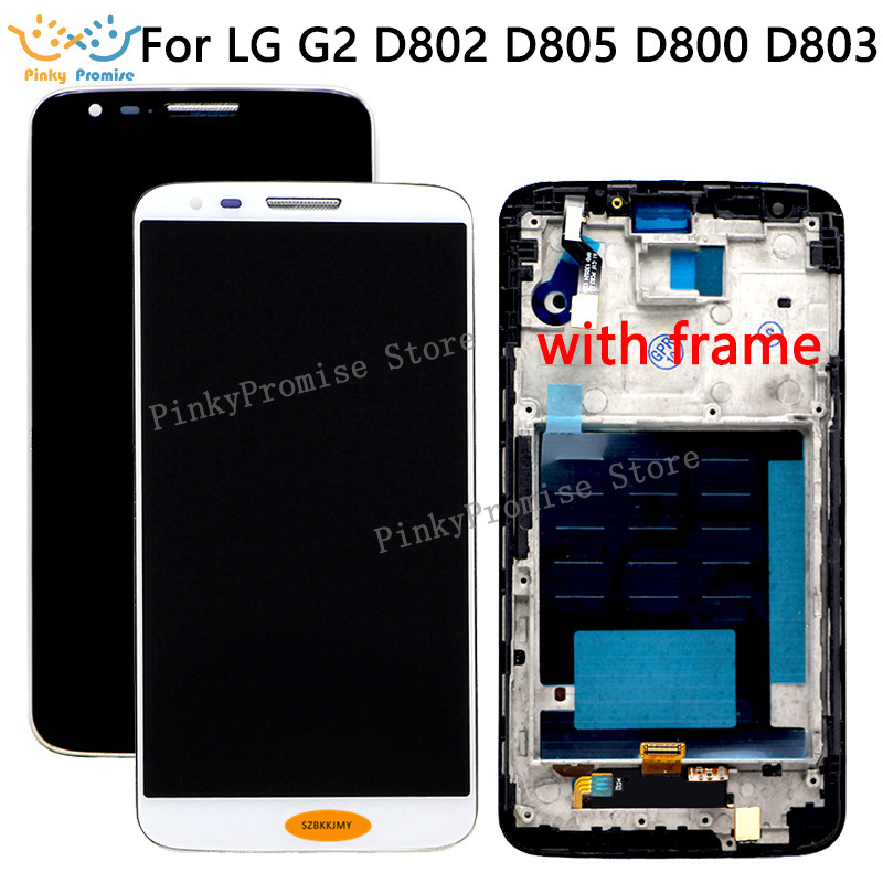 Touch-Screen Lcd-Display D802 VS980 D805 Lg G2 D800 F320 for D801 D803