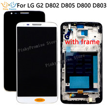 5.2 สำหรับ LG G2 จอแสดงผล LCD หน้าจอสัมผัสสำหรับ LG G2 LCD D800 D801 D802 D805 D803 VS980 F320 LS980 LCD