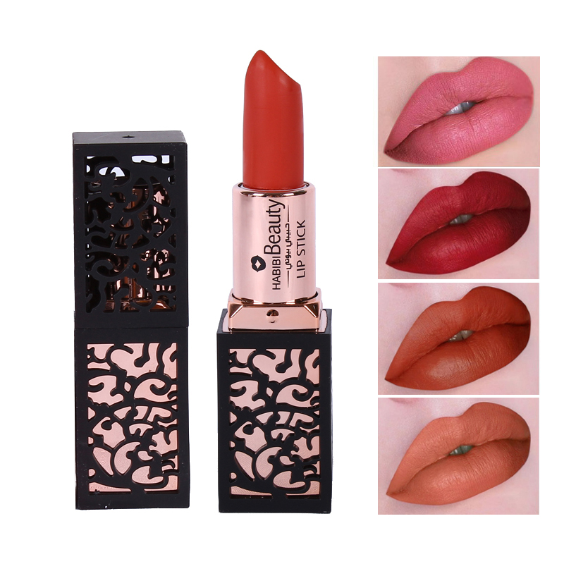 Habibi Beauty Brand Matte Lips Makeup Kit 8 Colors