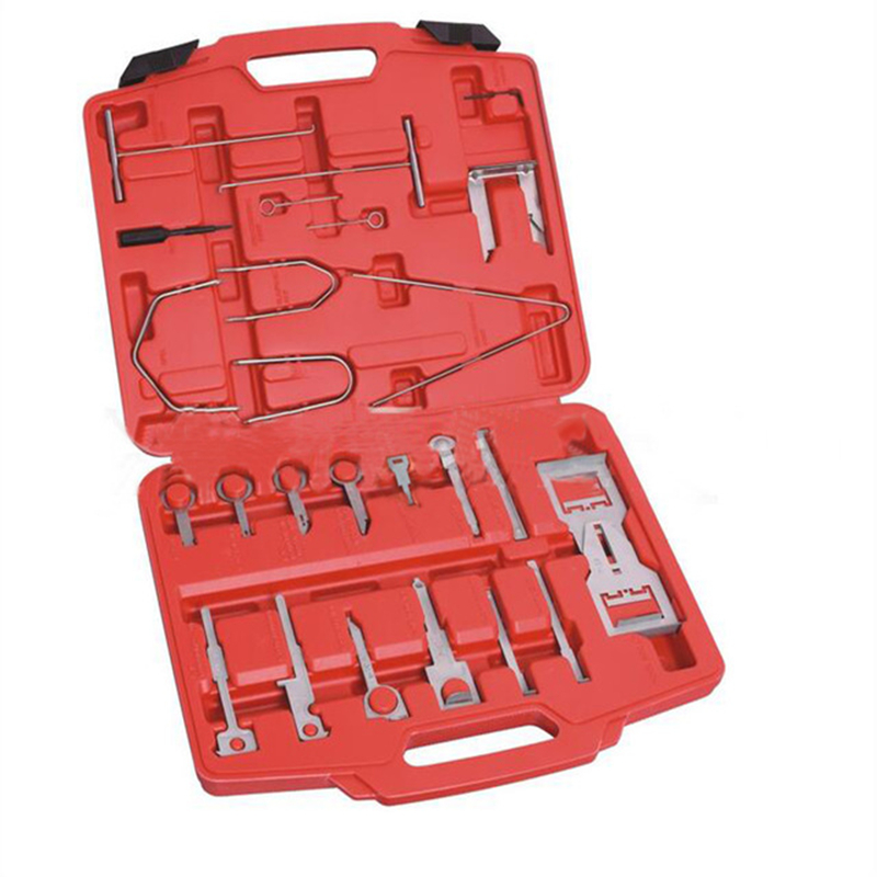 46 PC PROFESSIONAL MASTER RADIO STEREO REMOVAL TOOL SET TOOL KIT 46 PC PROFESSIONAL MASTER RADIO STEREO REMOVAL TOOL SET TOOL KIT