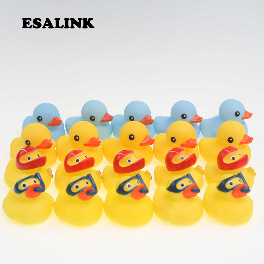 20pcs Rubber Duck Bath Toys Baby S Favorite Small