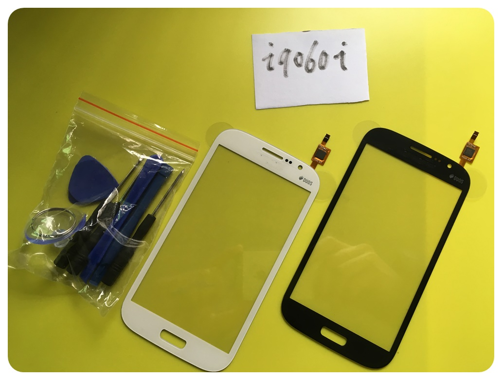 I9060i Sensor Replacement Parts For Samsung Grand Neo Plus i9060i Touch Screen Digitizer Glass Panel Tools