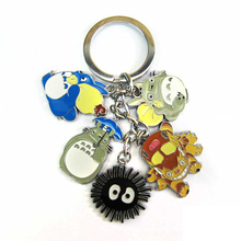 Totoro Metal Keychains Pendants