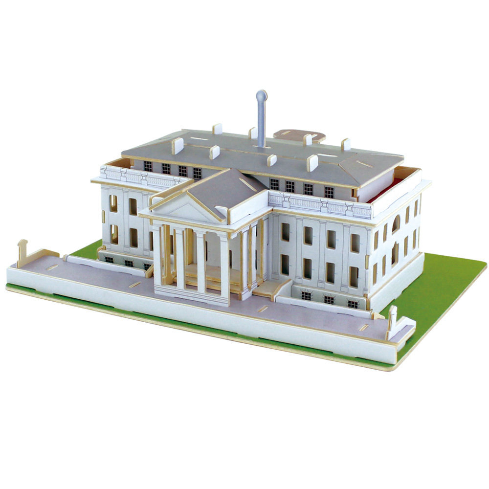 Aliexpress Buy Robotime Unfinished High Quality Handmade Diy 3d Wooden Puzzle White House Model Educational Aliexpress Buy Robotime Unfinished High