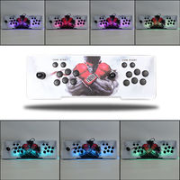 986 In 1 Arcade Console Box 5S LED Light Growing Retro Video Games Double Joystick Coin Operated Games 2 Players