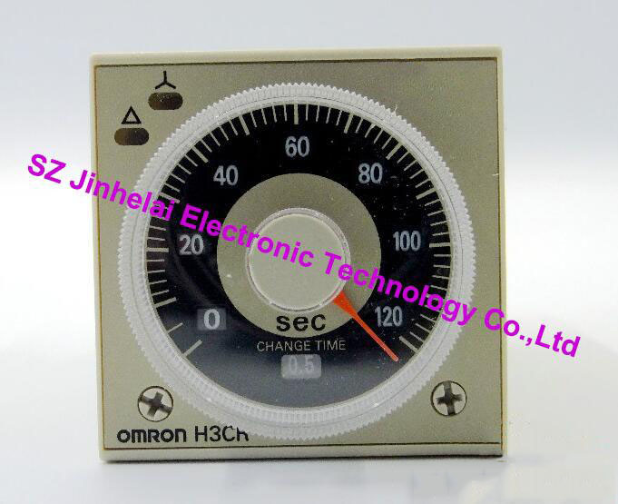 100%New and original  H3CR-G8EL OMRON  Time relay, Time calculator,Solid state timer  200-240VAC