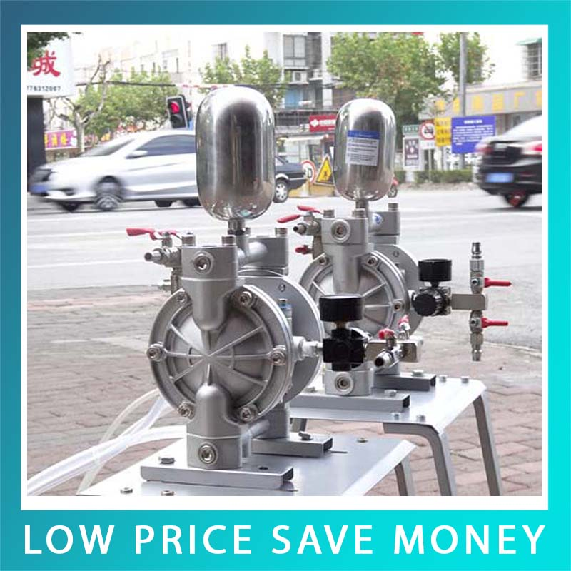 Small Protable High Pressure Double Acting 18L min Pneumatic Diaphragm Pump For Painting