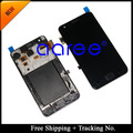 Free Shipping  Tracking No.4.3' tested Original For Samsung Galaxy S2 i9100 LCD  Digitizer Assembly with frame - White/Black