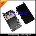 Seguimiento del envío gratis No. 4.3 ' probado Original para Samsung Galaxy S2 i9100 LCD digitalizador asamblea con marco - blanco / negro