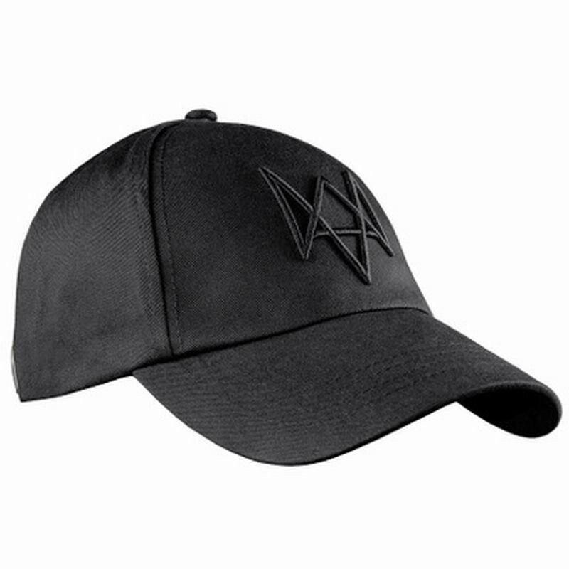 Топ продаж, маска для лица+ Кепка Aiden Pearce, костюм для косплея, бейсбольная кепка - Цвет: cap