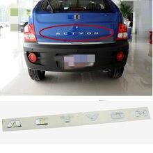 Genuine Rear Trunk Tailgate Logo Emblem for Ssangyong ACTYON 2006-2011   Rear Trunk Lid Logo Emblem badge 7992332000