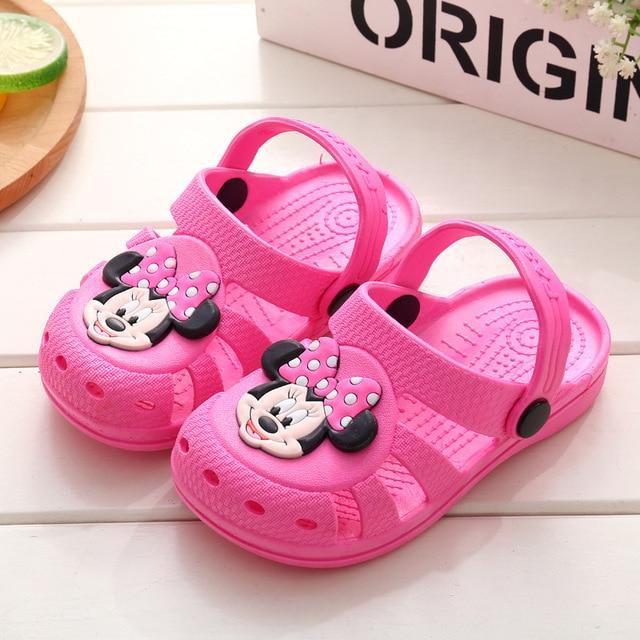 582252f5a 2018 New Cartoon Baby Beach Slipper Children Sandals Wholeas EVA Anti-slip  Girls Boys Slippers Summer Garden Shoes Child Slipper