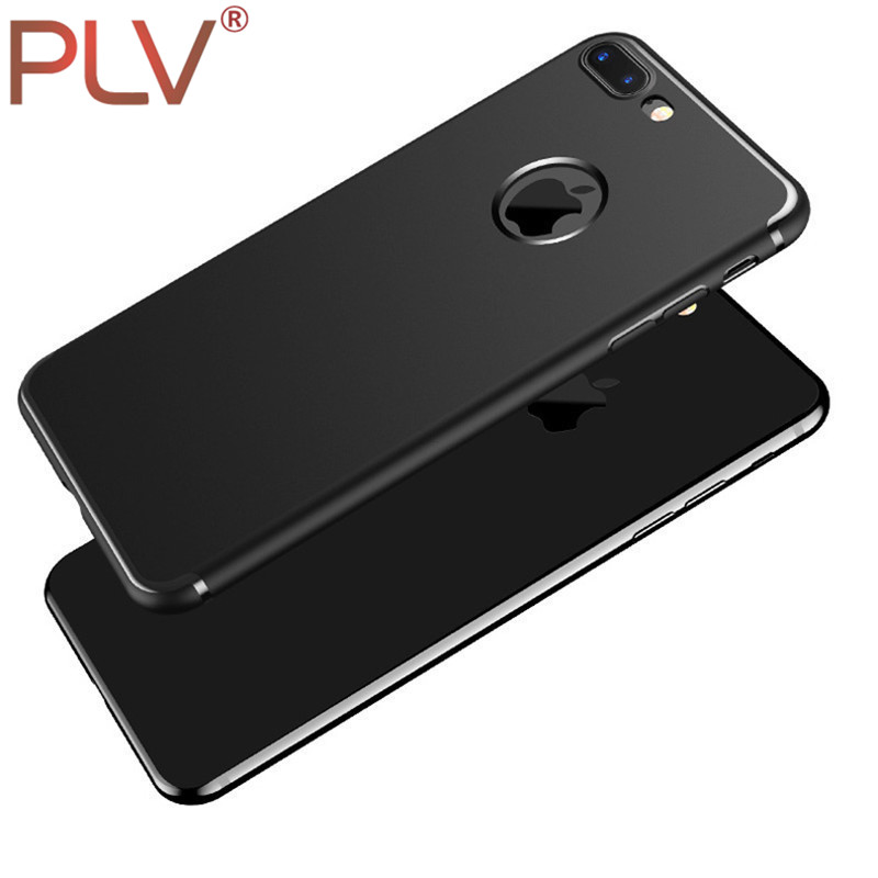 PLV Phone Case For iPhone 5 5S 6 6S 6Plus Scrub Shell Ultra Thin TPU Phone Protective Shell For iPhone 7 7 Plus Protective Cover