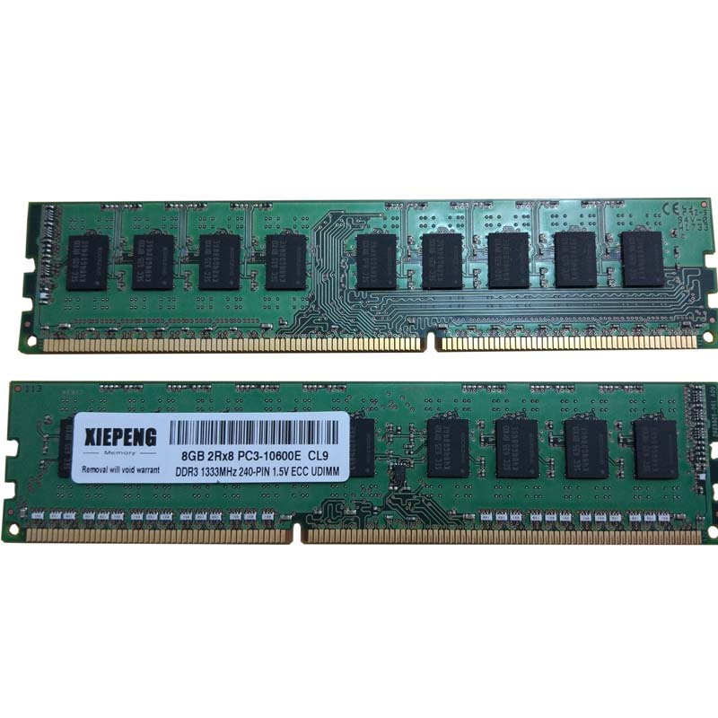 for <font><b>HP</b></font> Z200 Z400 Z600 Z800 Z420 Z620 Z820 Z220 Z210 Z21 workstation <font><b>RAM</b></font> 8GB DDR3 1333MHz <font><b>4GB</b></font> 2Rx8 PC3-10600E Memory ECC SDRAM image