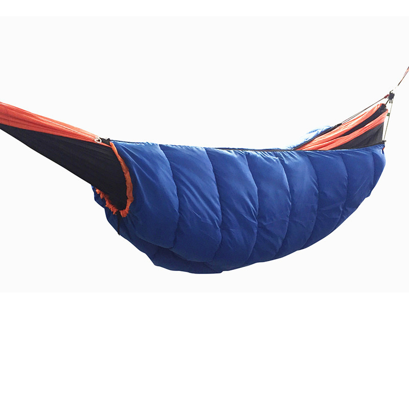 Popular Brand 260x140cm Portable Parachute Fabric Camping Hammock Hanging Bed With Mosquito Net Sleeping Hammock Outdoor Hamaca Warm And Windproof Camping & Hiking Camp Sleeping Gear