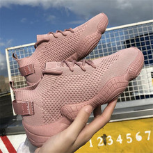 New summer mesh Run breathable socks shoes female ulzzang fly weaving casual comfortable sneakers womens
