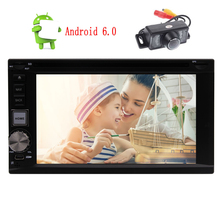 Android 6 0 Double 2 Din 6 2 Touch Screen Stereo GPS Navi CD DVD Player