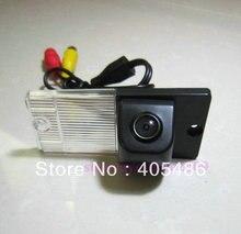 Бесплатная доставка! Sony CCD сенсор вид сзади автомобиля обратный резервного копирования зеркальное изображение камеры для KIA SPORTAGE SORENTO с руководство по линии