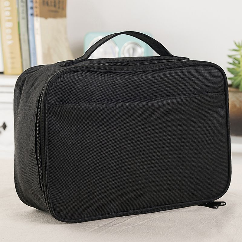 2019 New Nylon Unisex Zipper Durable Insulated Lunch Box Tote Reusable Cooler Bag For Work School Office