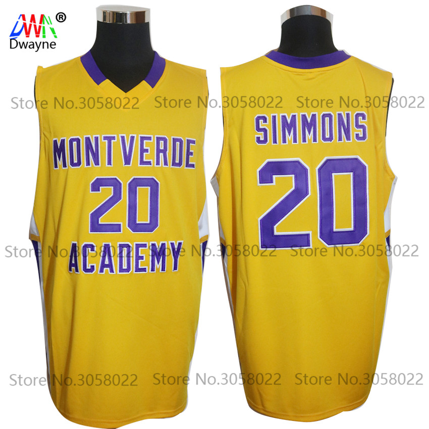 97a70c1746c6 New Ben Simmons Jerseys  20 Montverde Academy Eagles HS Mens Cheap ...