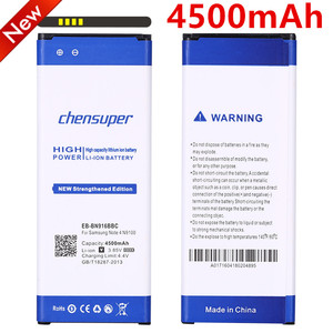 Image 1 - chensup  EB BN916BBC Battery For Samsung Galaxy Note 4 N9100 N910U N910F N910A High Capacity 4500mAh Replacement Battery