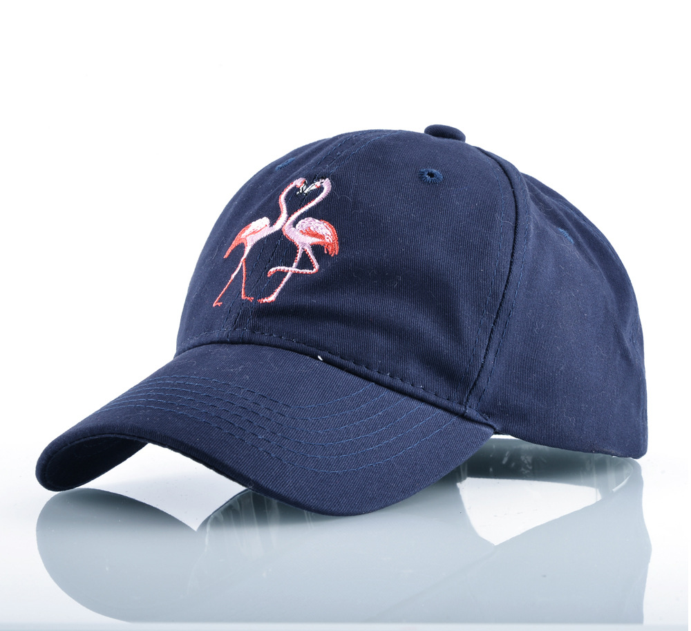 770a2ec8318 2017 New Cartoon Flamingo Embroidered Coupl Baseball Cap Dad Hat For Women  Men Summer Sun Visor Caps Snapback Hats Casquette -in Baseball Caps from  Apparel ...