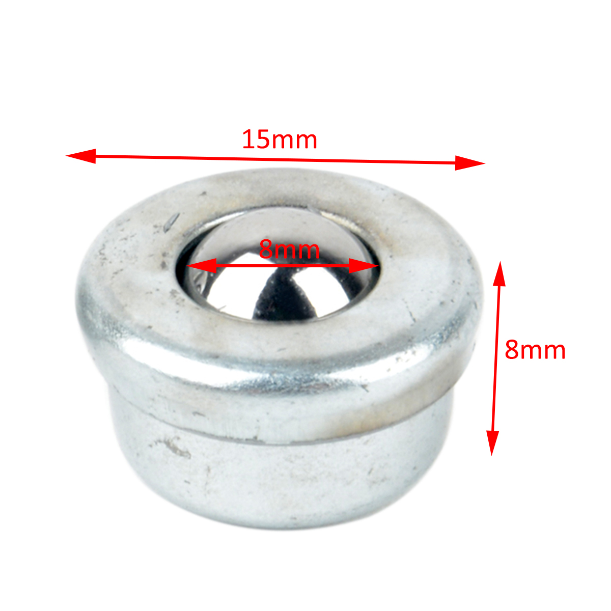 pcs unidade de rolamento de esferas de sliver metal de rolos cy