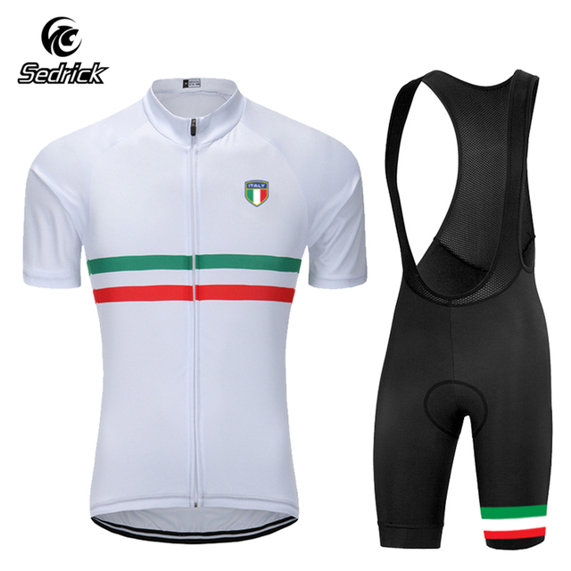 d064712d3 Sedrick 2018 Men Summer Short Sleeve Cycling Jersey Sets Quick-Dry  Breathable Bike Clothing Bicycle Cycling Clothing