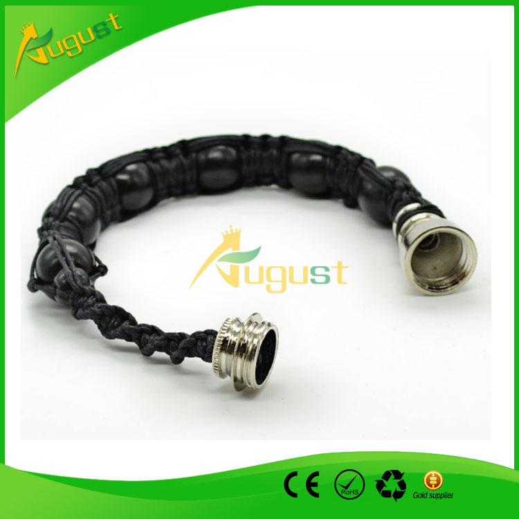 10pcs/lot  Fashion bracelet pipe men  Beading bracelet Smoking Pipe For Tobacco Discreet Neak A Toke Click N Vape