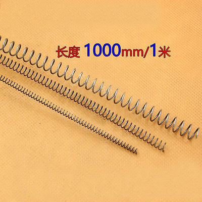3mm Stainless steel compression spring up to 1000mm long 3.7mm OD