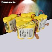 Panasonic 5 шт./лот BR-CCF2TH батарея с w/2 P вилкой 6 в 5000 мАч PLC FANUC литиевые батареи