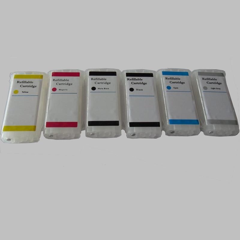 Vilaxh 72 Cartuccia di Inchiostro Riutilizzabile di Ricambio Per HP 72 per Designjet T610 T770 T1100 T1200 T1300 T2300 Stampante T790 T7100