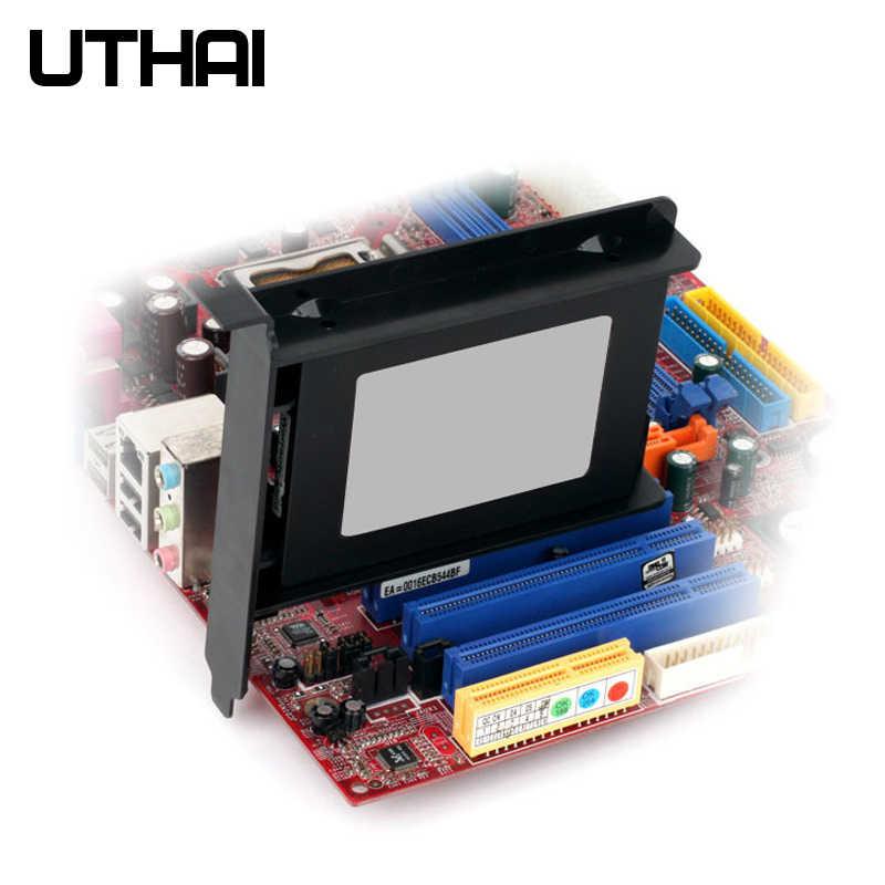 UTHAI G02 PCI Yuvası 2.5 Inç HDD/SSD Montaj Braketi Sabit Disk Adaptörü Şasi Arka Braketi Plastik