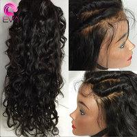 Pré Pincées Full Lace Perruques de Cheveux Humains Avec Bébé Cheveux 8