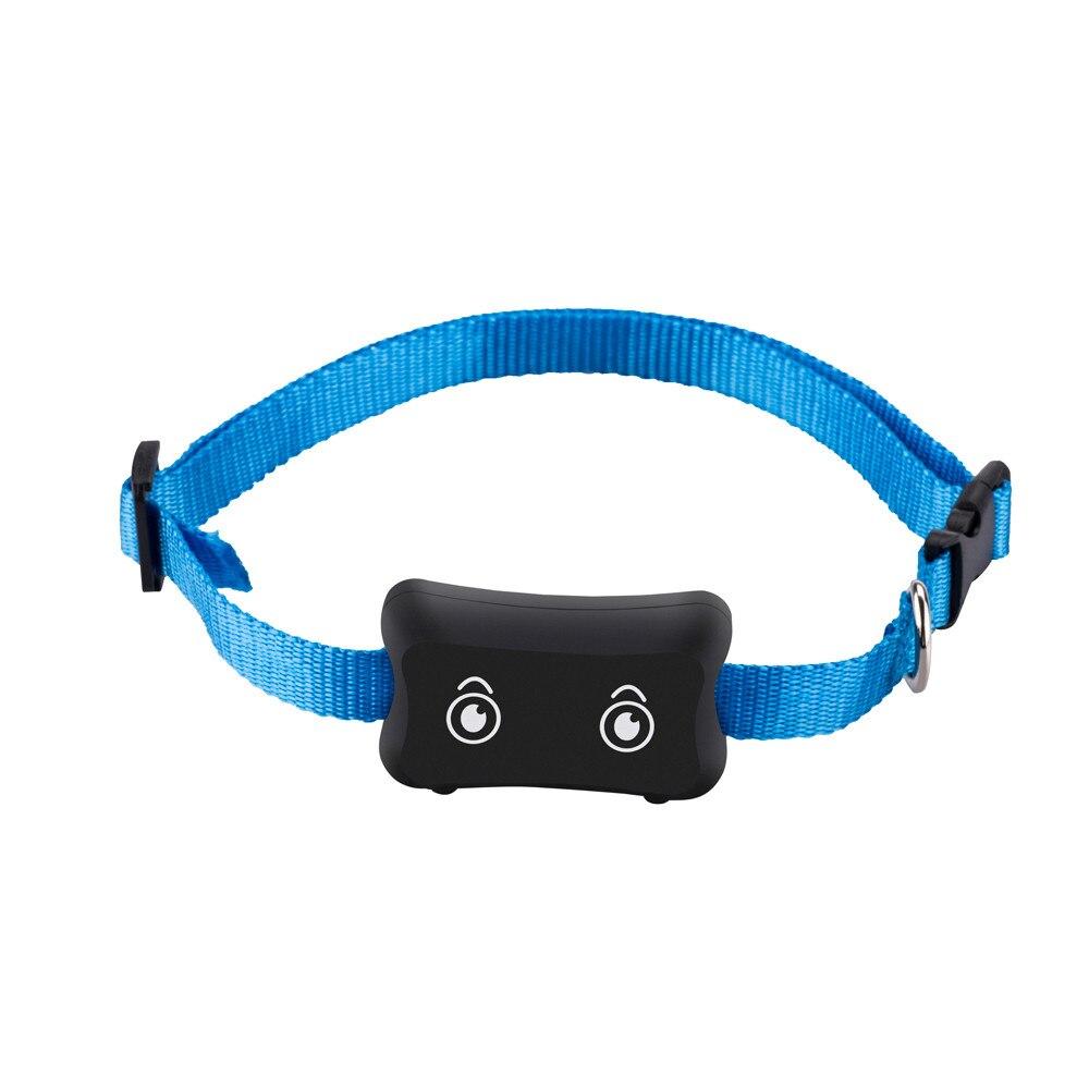 Traqueur de voiture Pet IP66 étanche traqueur GPS pour animaux de compagnie suivi en temps réel alarme faible ont un collier bleu Mini véhicule GPRS livraison directe