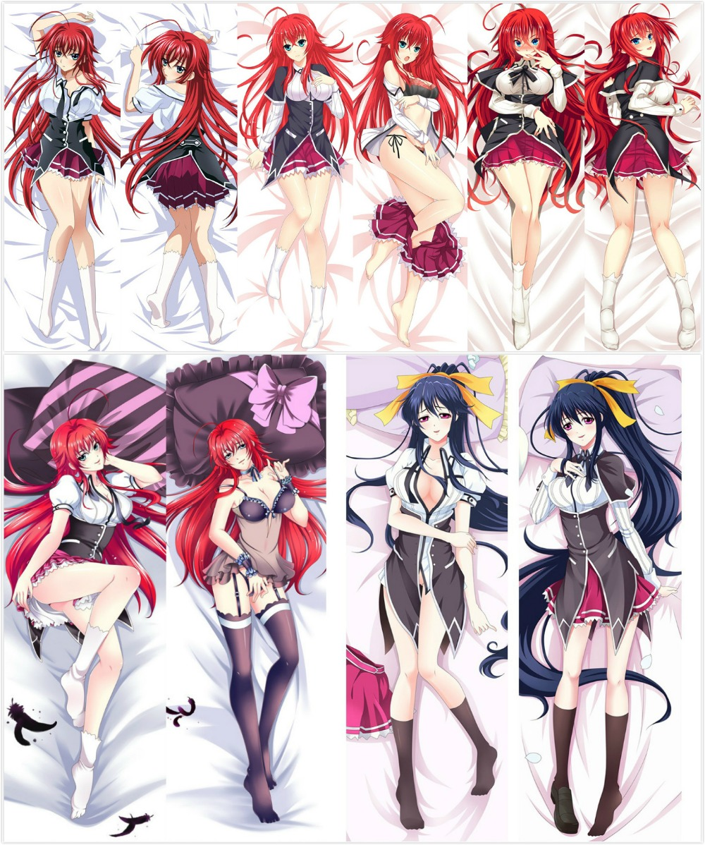 Japan Anime High School DxD Rias Gremory Hugging Body Pillow Cover case decorative pillowcases