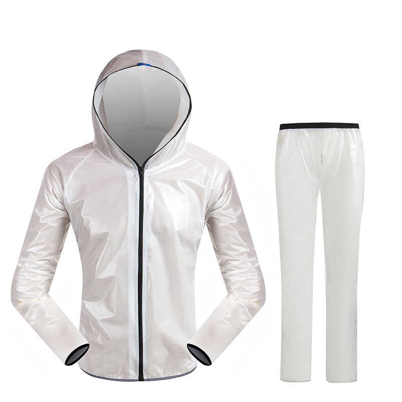 Водонепроницаемый дождевик для взрослых, спортивный костюм для рыбалки, дождевик для женщин, улучшенный унисекс, дождевик для мотоциклиста LZO172