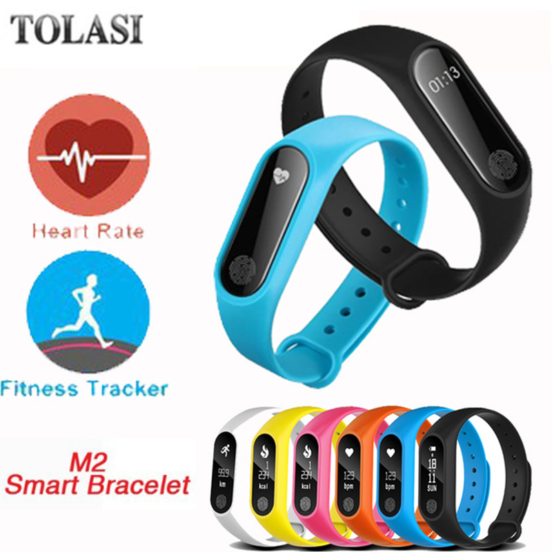 M2 Waterproof Wristband Bracelet Smart Heart Rate Monitor Fitness Tracker Touch Bluetooth 4.0 Smart M for Android iOS Phone m2 plus smart band ip67 fitness tracker wristband heart rate monitor smart bracelet waterproof sport bluetooth for android ios