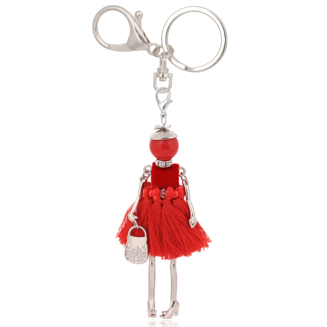 chenlege wholesale fashion key chains bag keyrings charms ladies keychains for women pendants jewelry car key chain ring gifts 3