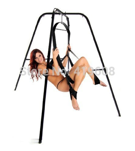 Orgasm Romatic Couple Love Sex Game Tool Sex Furnture Ultimate Sex Swing Stand With Swing