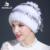 2016 venda quente chapéu de pele verdadeira inverno 100% rex casaco de pele das mulheres chapéu de pele de coelho rex com flowerw tamanho livre das mulheres casuais chapéu